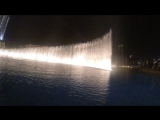 Дубай - поющие фонтаны, у подножья Бурдж Халифа
