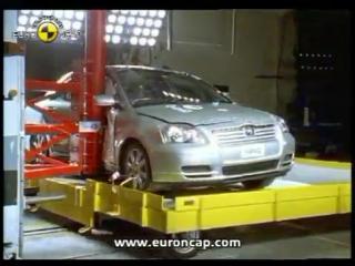 Краш-тест Toyota Avensis 2003 -Авто-Зона.рф безопасность превыше всего euroncap АвтоЗона