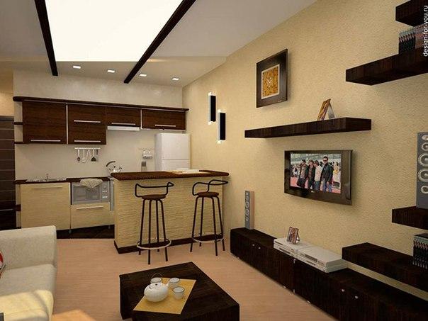 пример квартиры студии фото