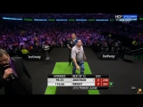 Gary Anderson vs Peter Wright (2016 Premier League Darts Week 7)
