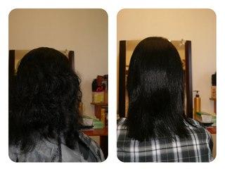 Тверь кератиновое выпрямление волос