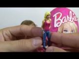 Барби киндер большое яйцо с сюрпризом открываем игрушки Giant surprise egg Barbie toys