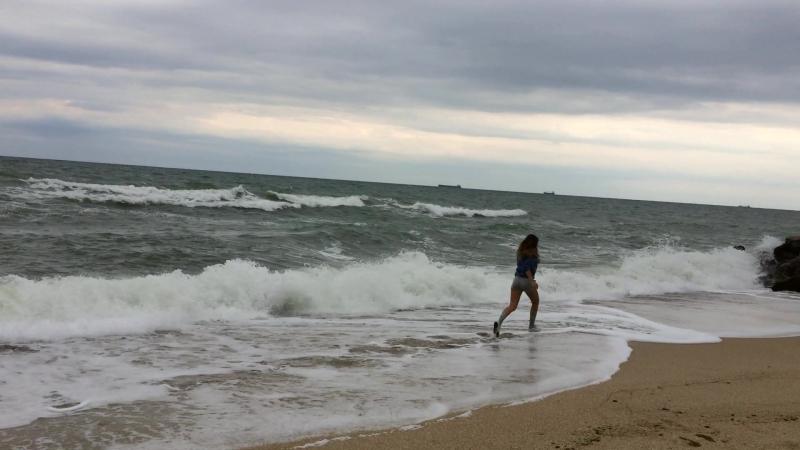 Sea salt in my hair. Soul is full of despair.