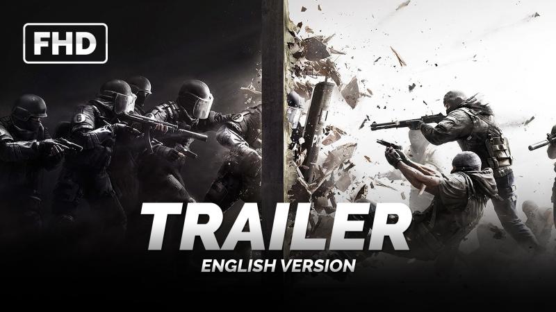 ENG   Трейлер (Game): «Tom Clancy's: Rainbow Six Siege» 2015
