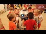 Знакомство с роботом в Детском саду Талантвилль