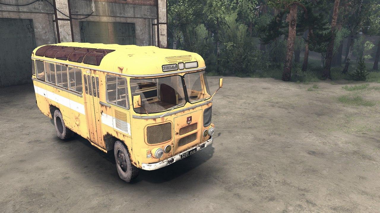 ПАЗ 3201 для версии 13.04.15 для Spintires - Скриншот 1