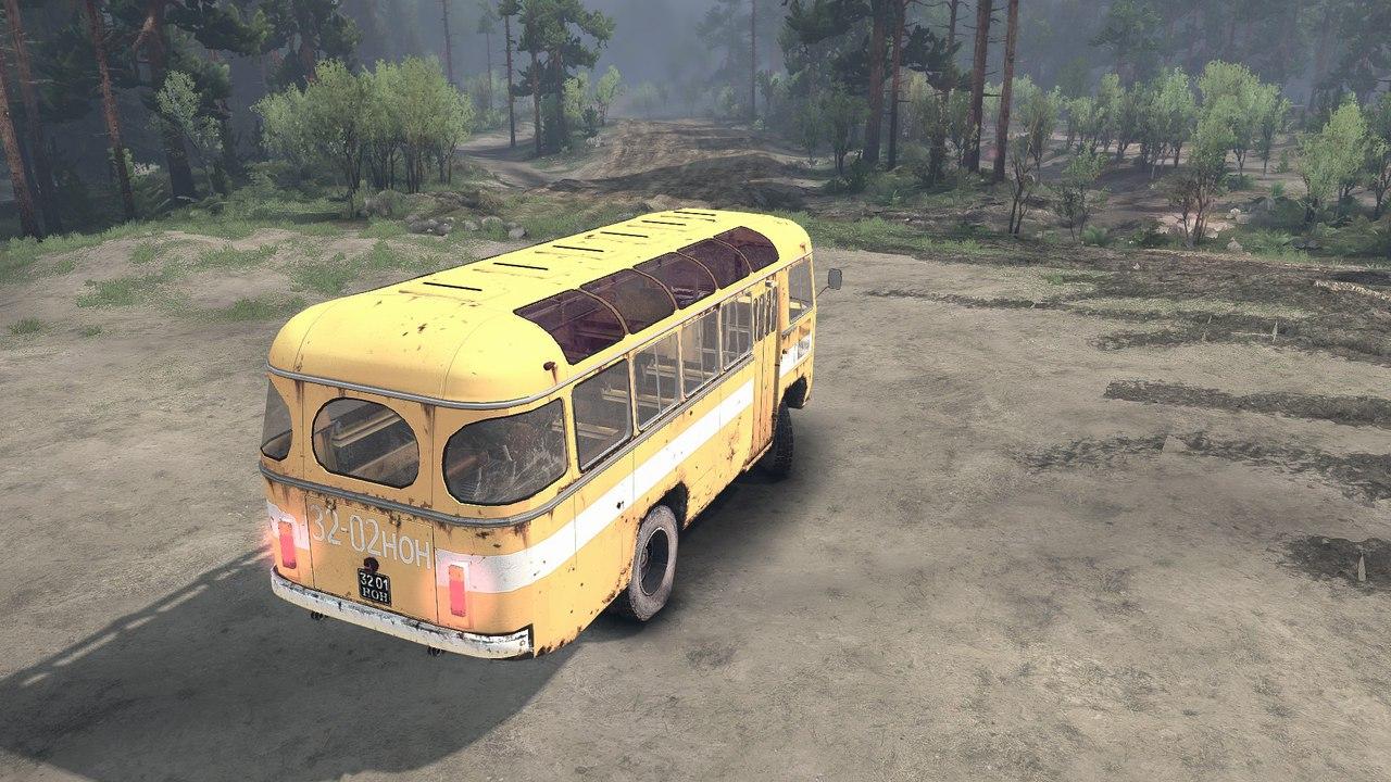 ПАЗ 3201 для версии 13.04.15 для Spintires - Скриншот 3