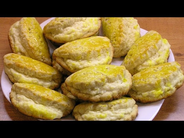 Сочники с творогом нашего детства / Sochniki (Cottage cheese-filled baked pies) ♡ English subtitles