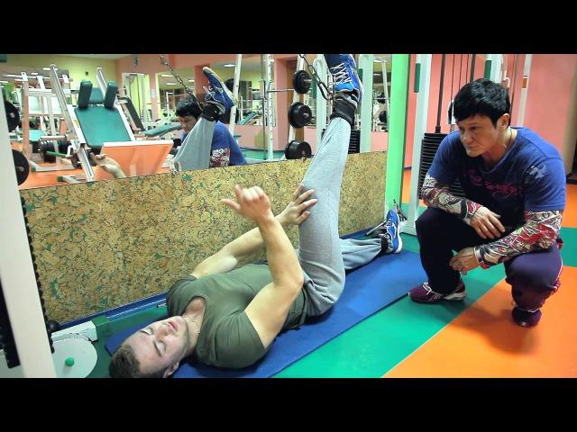 Тренировки при больных коленях,протрузиях и грыжах