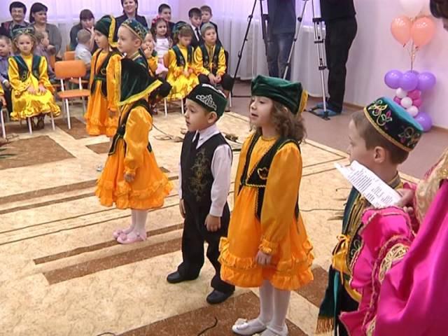 Минниханов и Метшин открыли новый детский сад в Казани с обучением на татарском языке » Freewka.com - Смотреть онлайн в хорощем качестве
