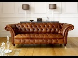 Chesterfield sofa 3Ds MAX modeling PROMO