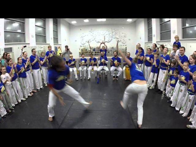 Esse Jogo e Maneiro 2015 - Andorinha troca de Instrutora, jogando com mestre Gil