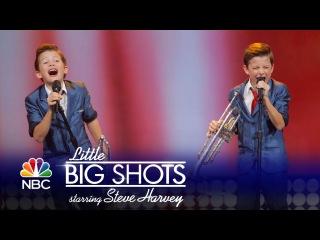 Little Big Shots - Amazing Family Brass Band (Episode Highlight)