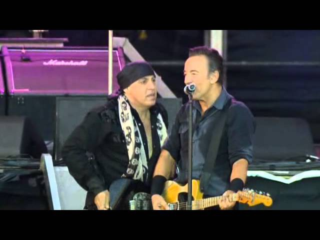Bruce Springteen - Glory Days (Wrecking Ball Tour London 2013)