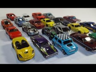 Обзор коллекции моделей Hotwheels и Matchbox в масштабе 1/64, краткий рассказ о серии в целом