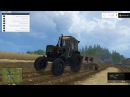 Farming Simulator 2015. Мод: Трактор ЮМЗ-6КЛ. (Ссылка в описании)