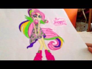 Мои рисунки из мультика (My little pony)