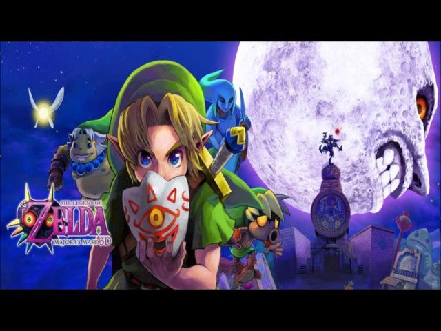 The Legend of Zelda: Majora's Mask 3D - Deku Palace - Music