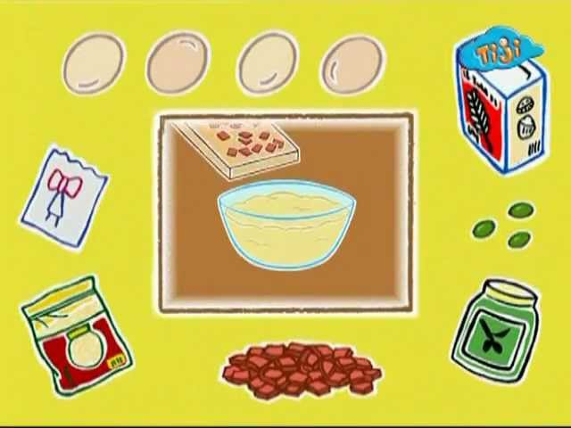19. Кекс с мясом и оливками. Поиграем приготовим.