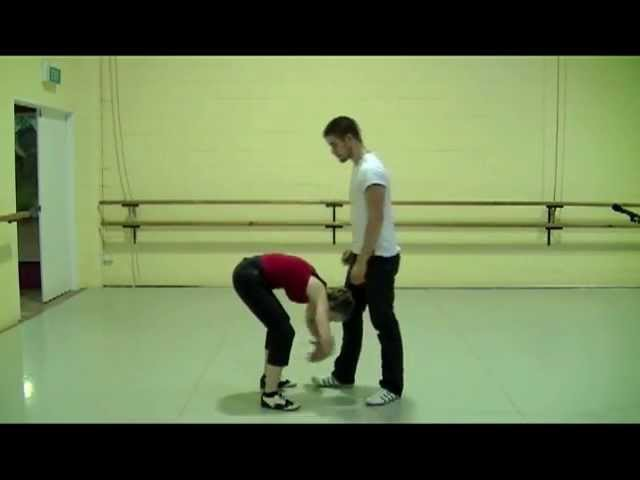 FRONT BACKFALL : Learn to dance