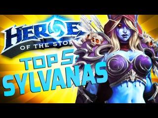 Top 5 Reasons To Play Sylvanas   Heroes of the Storm Hero   Sylvanas Gameplay Guide
