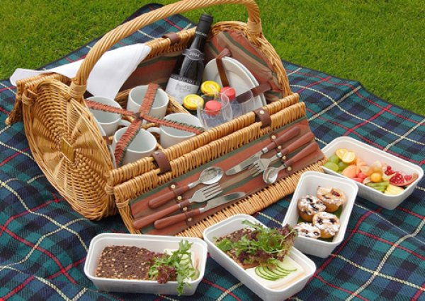 На пикник  Кулинарные рецепты любящей жены