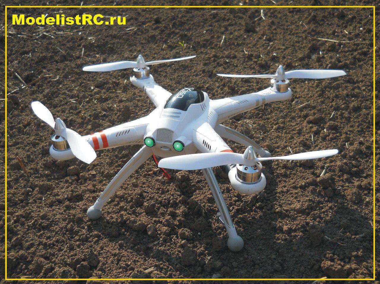 Квадрокоптер для видеосъмки