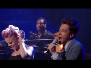 Pink feat. Nate Ruess - Just Give Me A Reason (Live)
