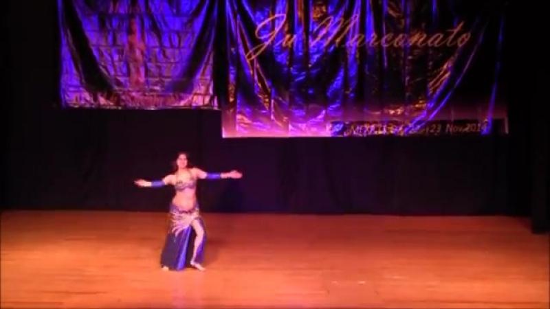 Sandra Harir 'Zai Ma Ehna' Gala Show con Ju Marconato
