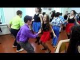 репетиция танца на новый год