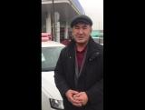 Вручение ключей от автомобиля в г.Таразе