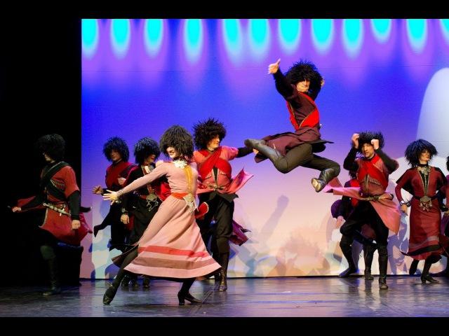 Джута и Ко Истина в танце. Грузинские танцы - Сухишвили СЭУ