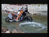 Africa Twin XRV750 Préparation rallye 2009 Présentation et essai