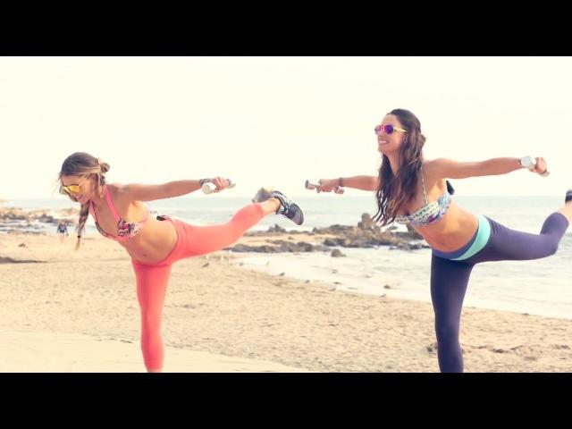 Tone It Up - Bikini Body Routine | Тренировка с гантелями для всего тела