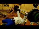 Дрищ жмет 120 килограмм (часть 2)