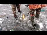 Зимняя рыбалка, сазан по первому льду