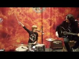 Kid drummer Logan Robot Gladden plays Nothin' To Lose with KISS! Durant, Oklahoma - 12916