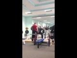 Влад Алхазов ( Израиль ), присед в бинтах ( без ремня) - 355 кг на 5 раз !