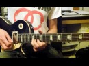 Slow Blues Dm using Gibson Les Paul Standard and Line 6 HD300