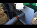 Шеф монтаж канализации для загородного дома Юнилос