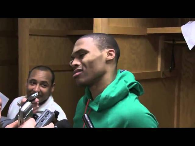 Russell Westbrook - Yall Niggas Trippin '- (Funny)