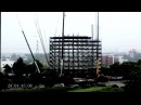 Ark Hotel Construction time lapse building 15 storeys in 2 days 48 hrs