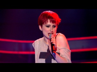J Marie Cooper performs Mamma Knows Best - The Voice UK - Blind Auditions 1 - BBC One