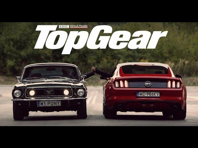 Ford Mustang GT V8 (2015) vs GT 390 Bullitt (1968)