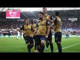 Суонси 0:3 Арсенал HD 2015 - Все Голы и Обзор Матча 31.10.2015 HD