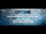 Kevin Saunderson presents ORIGINS 2015 Aftermovie