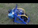 Электрическая лебедка для вспашки Бумеранг - лебедкабумеранг