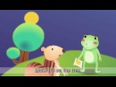 The Green Frog - Where is it? (In/On/Under) - English animated story for Kids