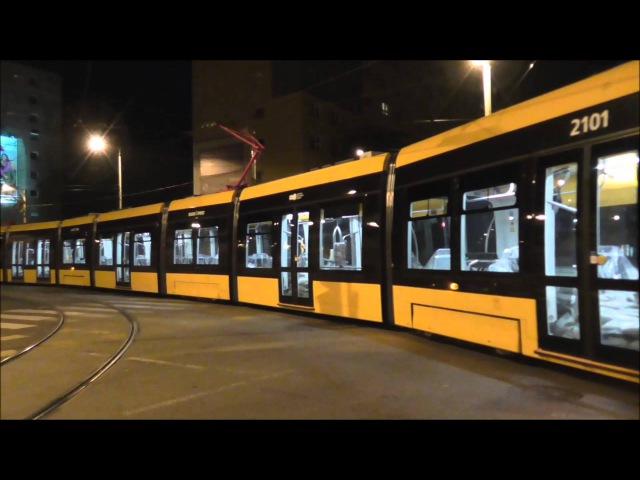 The worlds longest tram in Budapest - CAF - Die weltweit längste Straßenbahn