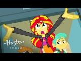Мой маленький пони Equestria девушки - Знакомства Закат Shimmer